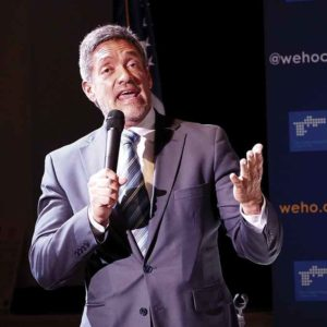 West Hollywood Councilman John Duran cited recent health issues for his decision to relinquish his title as the city's mayor. (photo by Luke Harold)