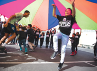Students learn benefits of physical activity with Cedars and the L.A. Clippers