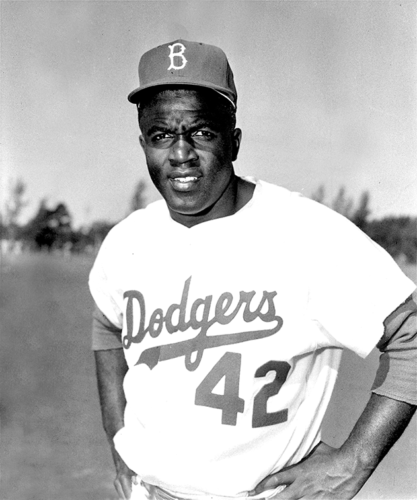 The Los Angeles Dodgers and Major League Baseball will celebrate Jackie Robinson breaking the league's color barrier on April 13 and April 15. (photo courtesy of the Los Angeles Dodgers)