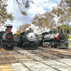 "Numerous vintage trains will be on display at the upcoming ""Steam Railfest.""  (photo courtesy of the Fillmore & Western Railway)"