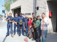 Community celebrates spring bloom at Fire Station 61