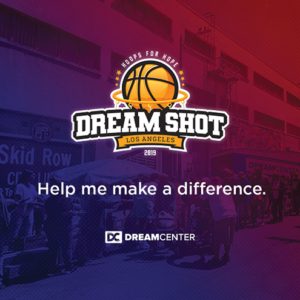 A local nonprofit aims to make 52,000 free throws in 24 hours. (photo courtesy of the Dream Center of Los Angeles)