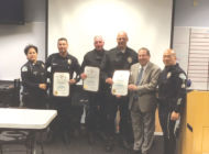Koretz recognizes veteran West Traffic Division officers