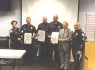 Koretz recognizes veteran West Traffic Division officers