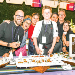 "Chef Susan Feniger (second from left), of Border Grill, returns for the Los Angeles LGBT Center's ""Simply DiVine"" on April 27 in Hollywood. (photo courtesy of the Los Angeles LGBT Center)"
