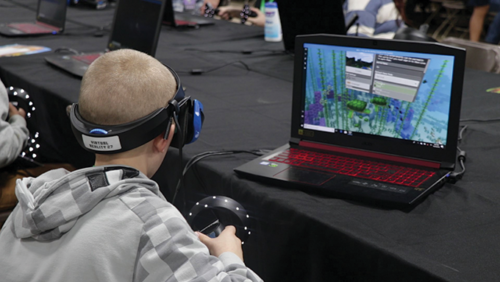 Minefaire, the top American event for the video game Minecraft, will be back in Los Angeles on April 13 and 14. (photo courtesy of Minefaire)