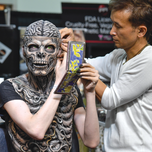 """Monsterpalooza 2019"" includes makeup demonstrations, celebrity guests, vendors and more at the Pasadena Convention Center. (photo by Steve Jennings)"