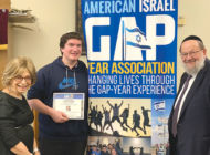 Students receive Israel Gap Year Scholarships