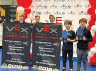 Teams represent LAUSD in world robotics competition