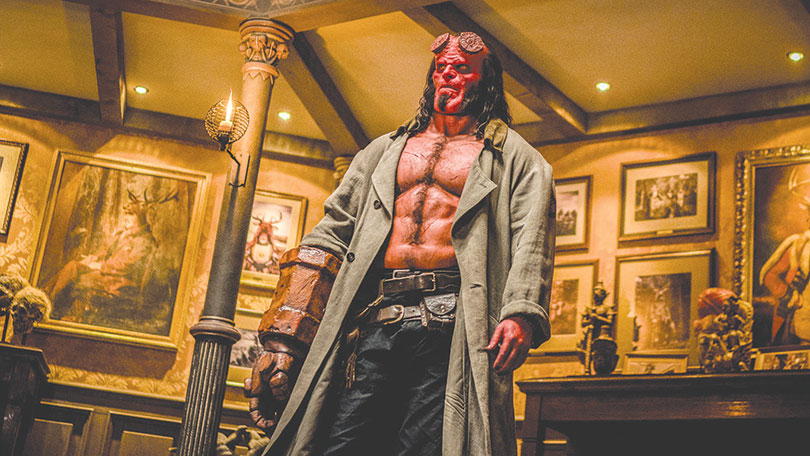 'Hellboy' bounces between bonkers action and straight-up trash