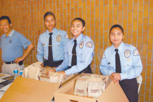 Cadets from the Wilshire Division learn leadership skills and staff community events. The new Wilshire Booster Association seeks to raise funds and support for police station programs including the cadets. (photo by Edwin Folven)