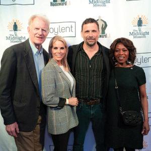 Ed Begley Jr., Cheryl Hines, Jeremy Sisto and Alfre Woodard attended the HomewardLA kickoff event at the Egyptian Theater on April 23. (photo courtesy of Ashly Covington)