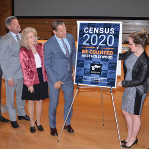 The city of West Hollywood unveiled its census initiative during a recent City Council meeting. (photo by Richard E. Settle/courtesy of the city of West Hollywood)