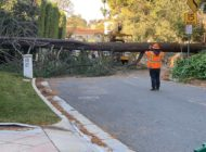 LADWP crews restoring power following heavy winds