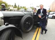 Britweek luxury car rally rolls into Beverly Hills