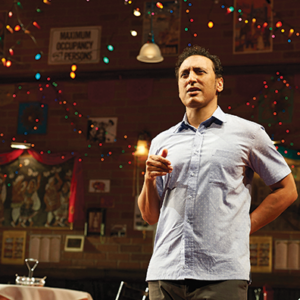 "Aasif Mandvi, formerly of ""The Daily Show,"" wrote and will star in ""Sakina's Restaurant,"" which will be part of Center Theatre Group's 2019-20 season at the Kirk Douglas Theatre.  (photo by Lisa Berg/courtesy of Center Theatre Group)"