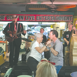 Deke Dickerson & The Whippersnappers bring rockabilly and alternative country music to the Farmers Market on June 14. (photo courtesy of the Original Farmers Market)