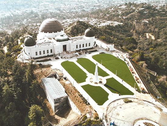 (photo courtesy of the Griffith Observatory)