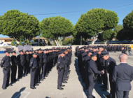 Chief leads formal inspection at Hollywood Division