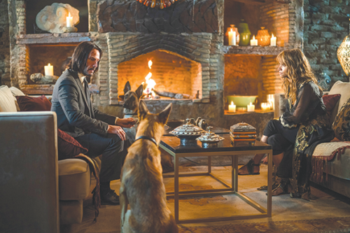 "In ""John Wick: Chapter 3 – Parabellum,"" Wick (Keanu Reeves) seeks help from Sofia (Halle Berry), one of the most compelling characters in the movie. (photo by Mark Rogers/courtesy of Lionsgate)"