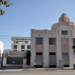 The Afga Ansco Corporation Building on Santa Monica Boulevard was named a historic-cultural monument on May 15. (photo courtesy of the Los Angeles Department of City Planning)