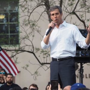 A few hundred supporters of 2020 presidential candidate Beto O'Rourke, who fell short in a longshot bid to replace U.S. Sen. Ted Cruz in 2018, attended a rally at Los Angeles Trade Tech College last weekend. (photo by Luke Harold)