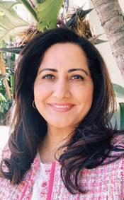 Huma Ahmed (photo courtesy of the city of Beverly Hills)