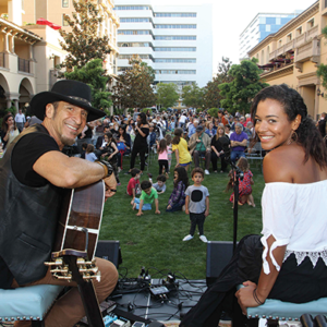 Concerts will be taking place on Thursdays and Saturdays throughout the summer. (photo courtesy of the city of Beverly Hills)