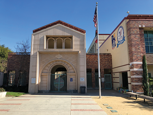 Beverly Vista will become the district's new consolidated middle school. (photo by Luke Harold)