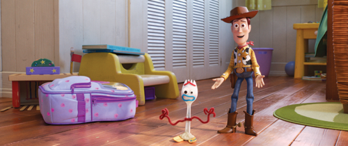 "The El Capitan Theatre in Hollywood is showing ""Toy Story 4"" through July 14, and Woody and Buzz will appear live on stage before the movie. (photo courtesy of Disney-Pixar)"