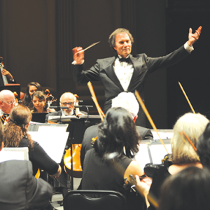 Conductor Gary S. Greene, Esq., will lead the Los Angeles Lawyers Philharmonic & Legal Voices in its 10th anniversary concert at the Walt Disney Concert Hall. (photo courtesy of the Los Angeles Lawyers Philharmonic)