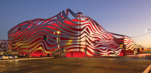 The Petersen Automotive Museum, the Craft Contemporary, the La Brea Tar Pits and Museum, and the Los Angeles County Museum of Art will offer $2 off admission for anyone who visits more than one museum on the same day. (photo courtesy of the Petersen Automotive Museum)
