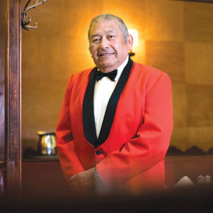Longtime Musso & Frank Grill waiter Sergio Gonzalez is mourned after his death on June 4. (photo by Tina Whatcott-Echeverria)