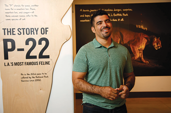 Miguel Ordeñana, a wildlife biologist at the Natural History Museum of Los Angeles County, has been named to the board of directors of the National Wildlife Federation. (photo courtesy of the Natural History Museums of Los Angeles County)