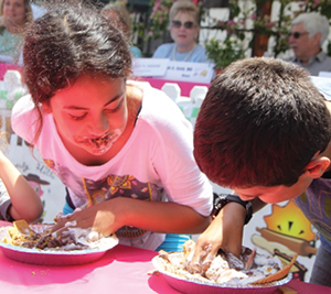 The event will include a pie-eating competition for adults and children. (photo courtesy of the city of Beverly Hills)