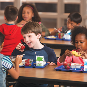 The Los Angeles Department of Recreation and Parks is serving nutritious meals to thousands of students each summer. (photo courtesy of the USDA)