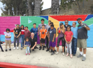 Community celebrates mural project