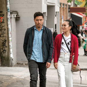 "A writer, a producer and a star of ABC's ""Fresh Off the Boat"" came together to create the romantic comedy ""Always Be My Maybe."" (photo courtesy of Netflix)"