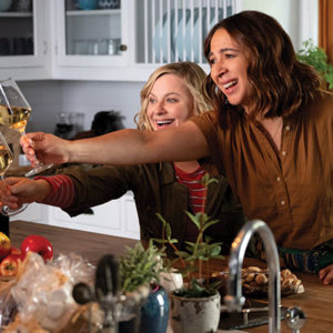 "Amy Poehler and Maya Rudolph star in ""Wine Country,"" which marks Poehler's directorial debut and features many more ""Saturday Night Live"" alumni. (photo courtesy of Netflix)"