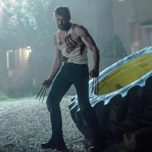 "Hugh Jackman's Wolverine film ""Logan"" was well-received by critics and audiences, and was nominated for an Academy Award for best adapted screenplay. (photo courtesy of 20th Century Fox)"
