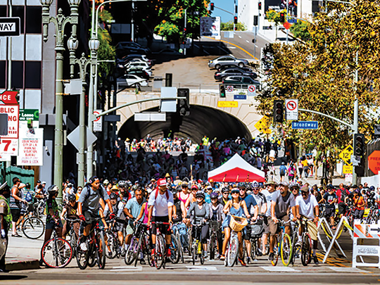 (photo courtesy of CicLAvia)