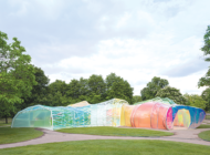 Serpentine pavilion adds a twist to Tar Pits experience
