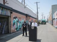 Garcetti details crackdown on illegal trash dumping