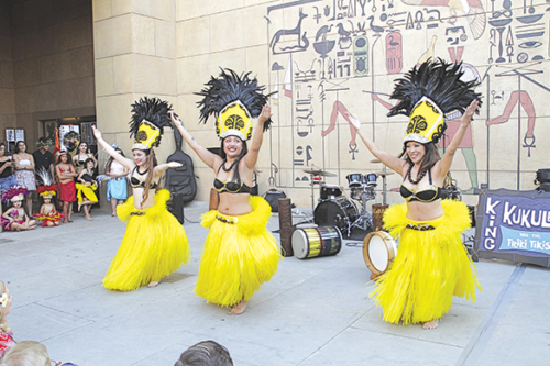 "Polynesian dancers are a fun part of the annual ""Tiki Night"" at the Egyptian Theatre. (photo courtesy of American Cinematheque)"