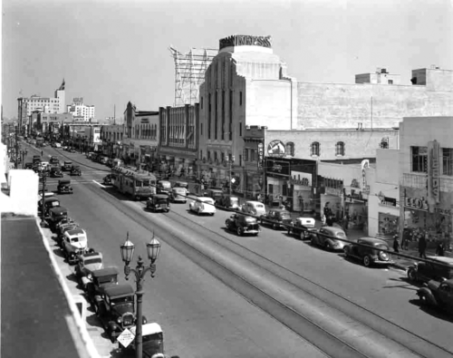 The Old Hollywood Walking Tour highlights many of the places that made Hollywood famous during the golden age of film. (photo courtesy of the Art Deco Society of Los Angeles)