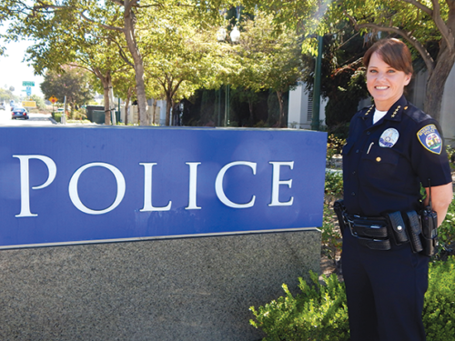 Beverly Hills Police Chief Sandra Spagnoli was accused of harassment and retaliation against BHPD officers and employees. (photo by Edwin Folven)