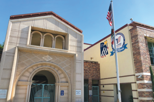 Beverly Vista, the new middle school for the Beverly Hills Unified School District, is expected to enroll nearly 1,000 students this year. (photo by Luke Harold)