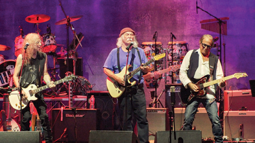 Rock and Roll Hall of Famer David Crosby of Crosby, Stills, Nash & Young was among the featured acts of California Saga 2, which raised money to benefit people experiencing homelessness. (photo by Emma Rogers)