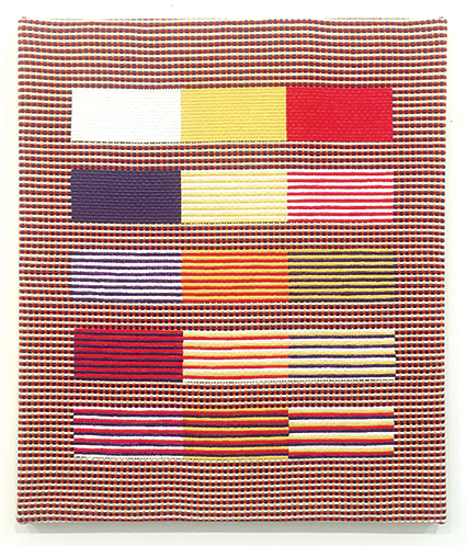 Samantha Bittman's untitled textile work from 2018 will be included in the exhibit paying tribute to the work of Anni Albers. (photo courtesy of the Craft in America Center)