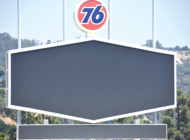 Familiar 76 logo returns to Dodger Stadium